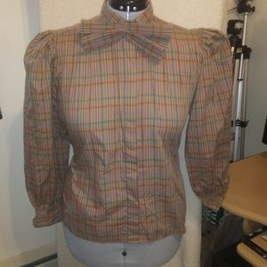 Plus Size Vintage Levi Strauss & Co. Blouse